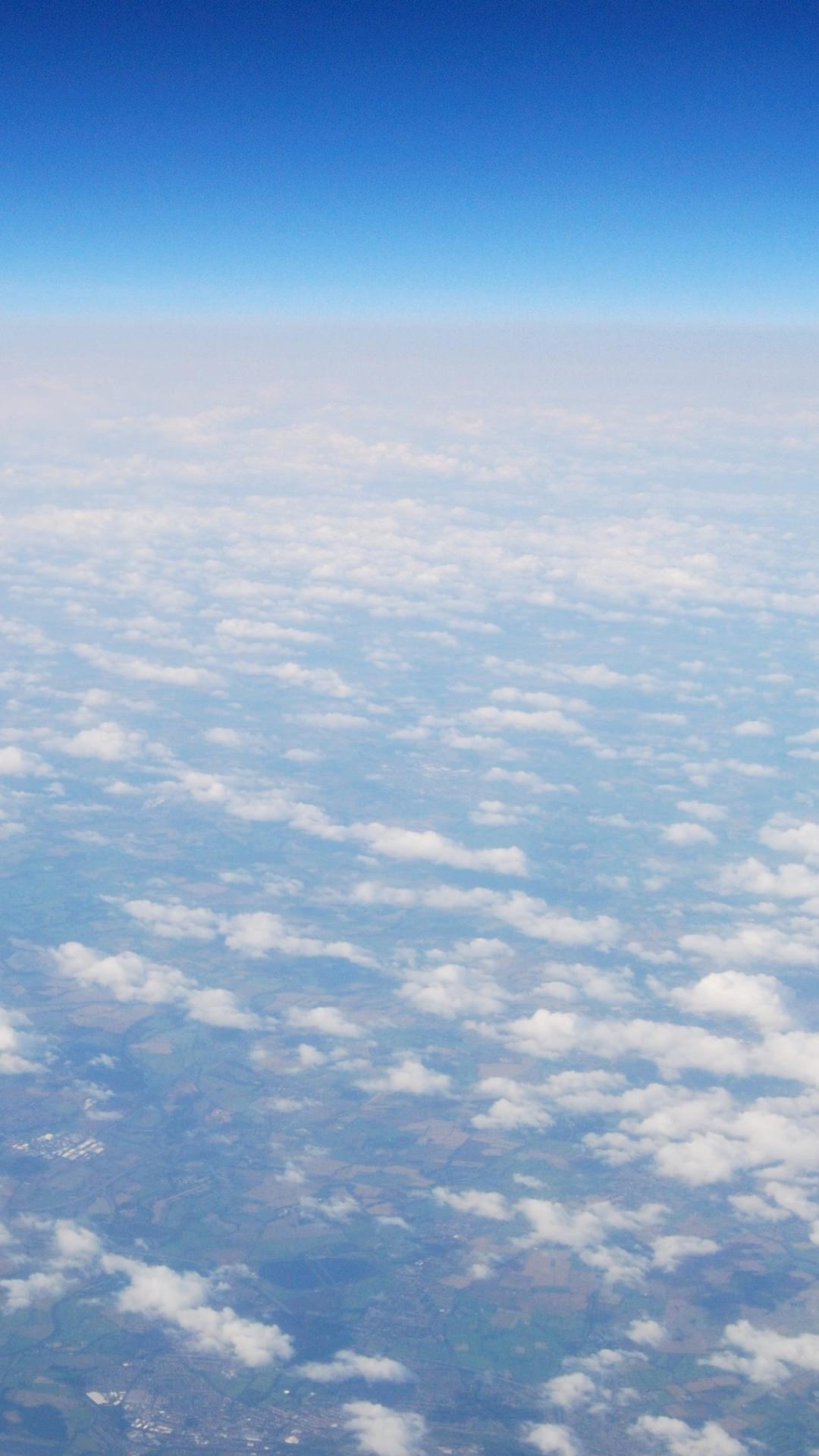 大気圏 iPhone6 Plus 壁紙