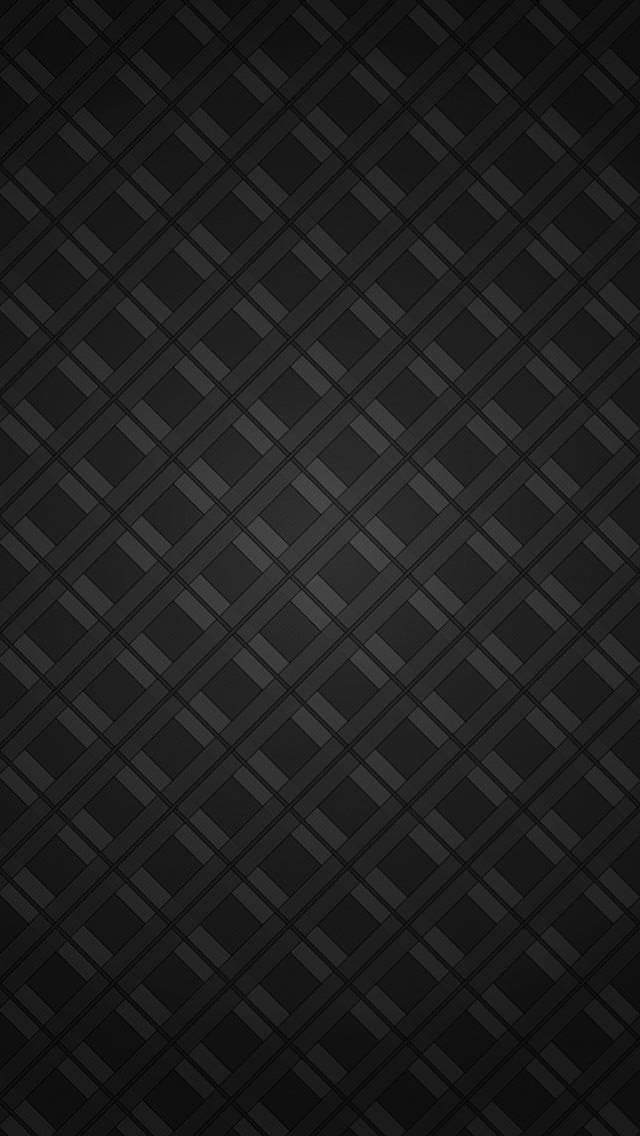 黒の格子 iPhone5壁紙