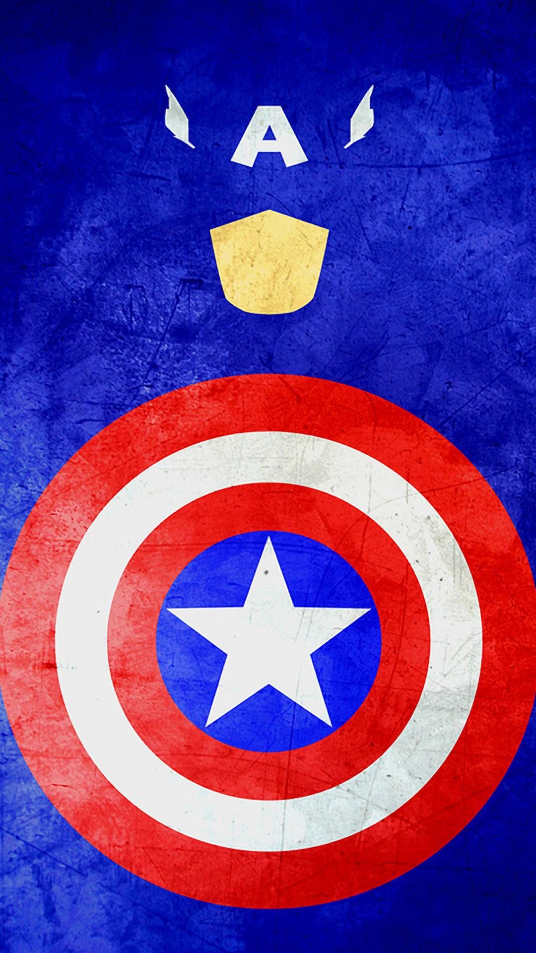 キャプテンアメリカ iPhone6 Plus 壁紙
