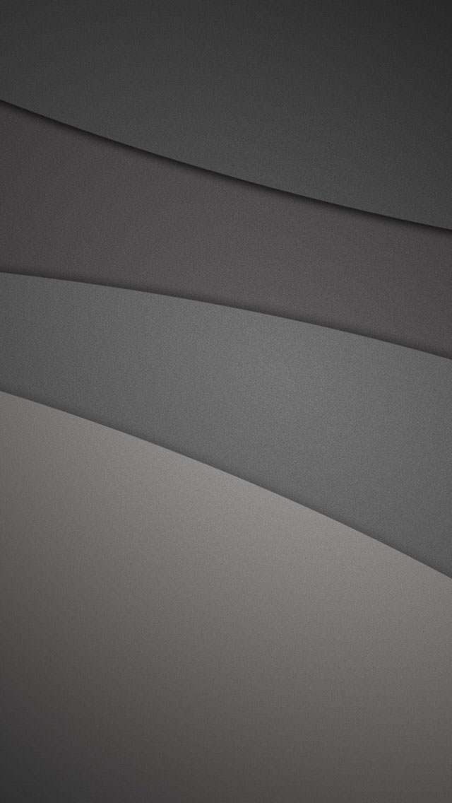 黒の重なり iPhone5壁紙