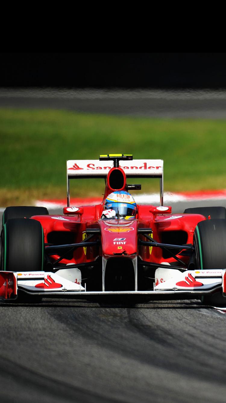 F1のレース iPhone6 壁紙
