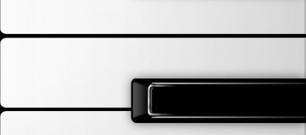 ピアノの鍵盤 iPhone5壁紙
