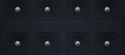 ピンが打たれた黒 iPhone5壁紙