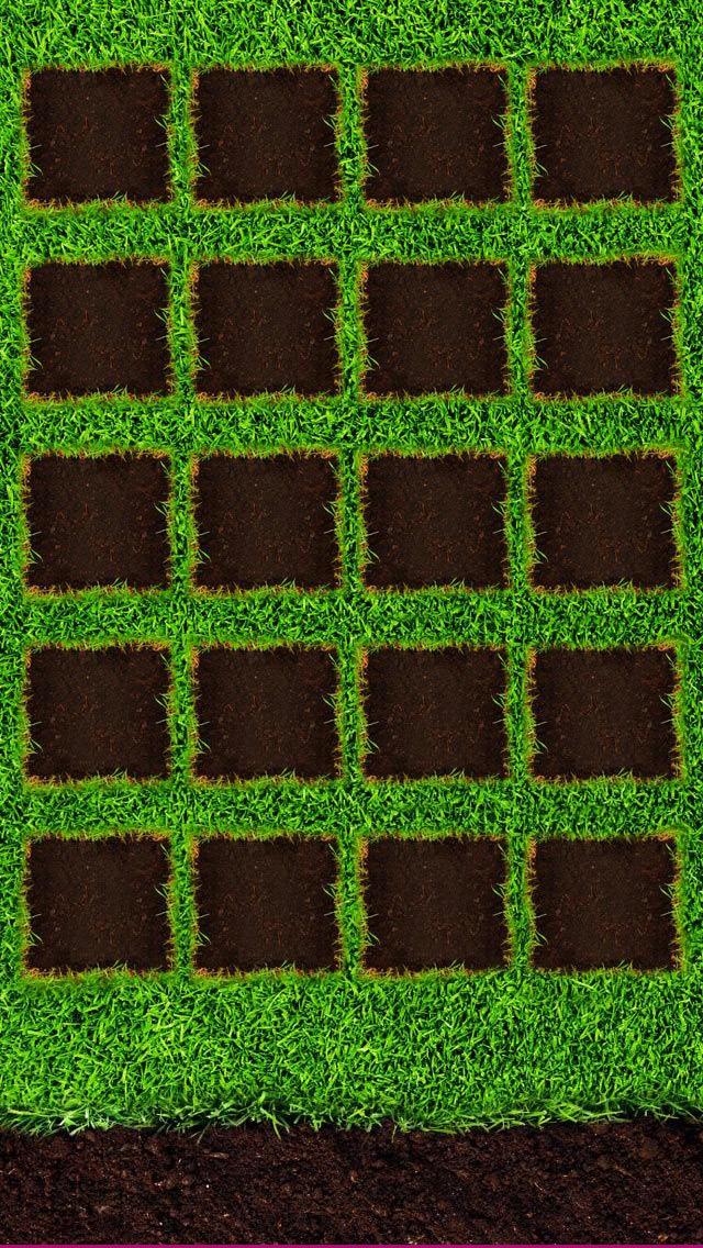 ガーデン iPhone5壁紙