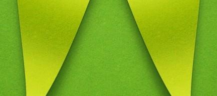 ビビッド・グリーン iPhone5壁紙