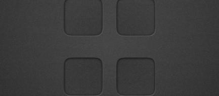 ブラック・モード iPhone5壁紙