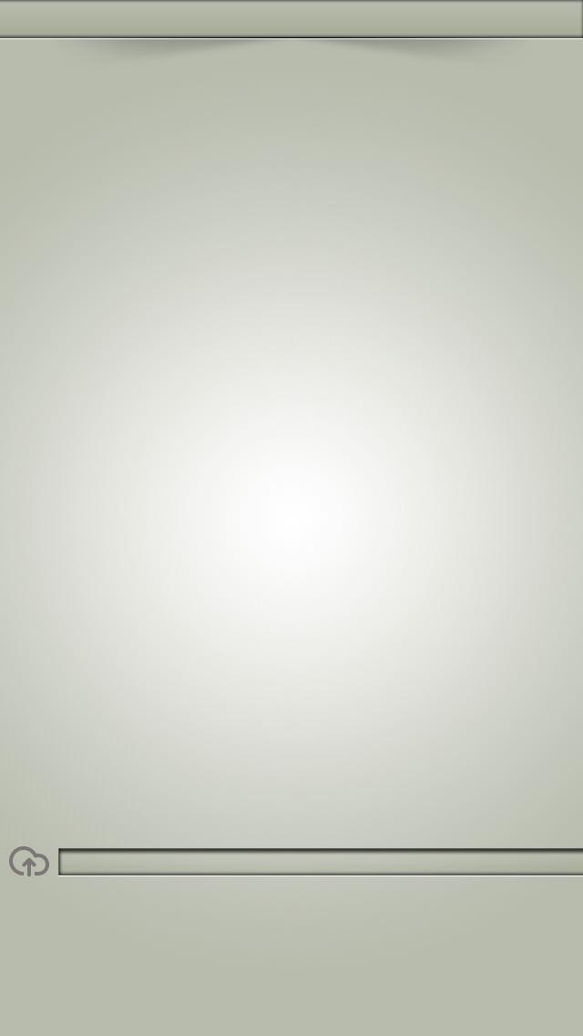シンプル・クリーングラス iPhone5壁紙