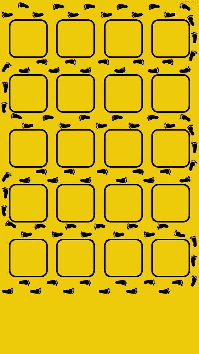 うろつく足跡 iPhone5壁紙