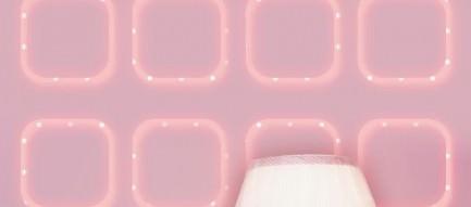ピンクのガーリーなiPhone5壁紙