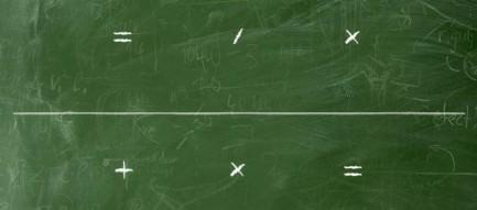 学校の黒板 iPhone5壁紙