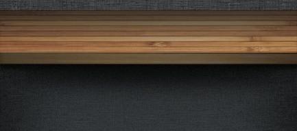 2分割の棚 iPhone5壁紙