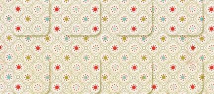 かわいい幾何学模様 iPhone5壁紙