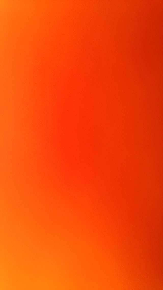 綺麗なオレンジのグラデーション iPhone5壁紙