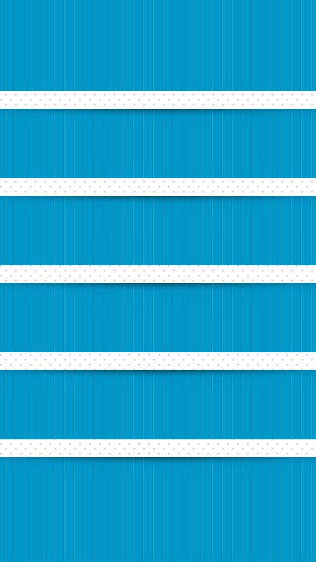 水色とドット iPhone5壁紙