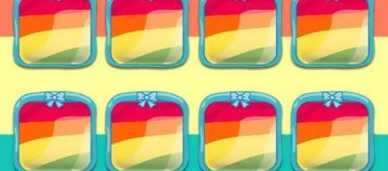 ポップ・レインボー iPhone5壁紙