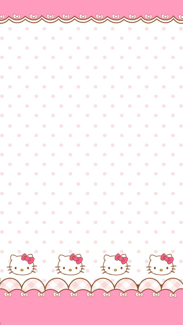 かわいいキティちゃん iPhone5壁紙