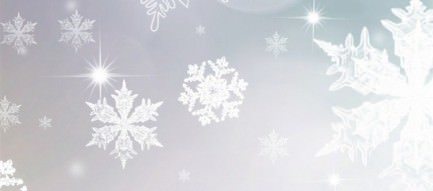 白の雪紋 iPhone6壁紙