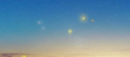 蛍と星空 iPhone5壁紙