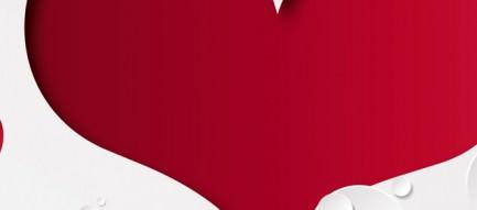 Cute Heart iPhone5壁紙