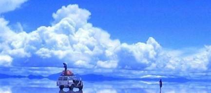 ウユニ湖 iPhone6壁紙