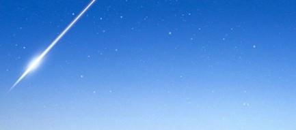 一筋の流れ星 iPhone5壁紙