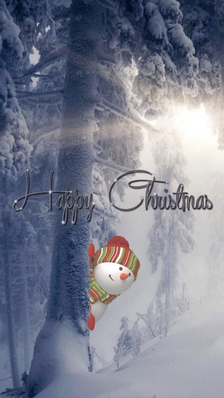 ハッピー クリスマス Iphone6壁紙 Wallpaperbox