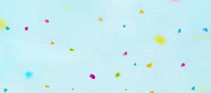 水色のちよ紙 iPhone6壁紙