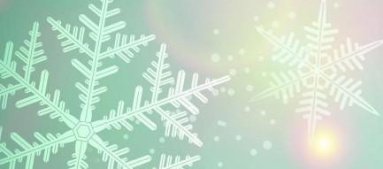 雪の結晶 iPhone6 Plus壁紙