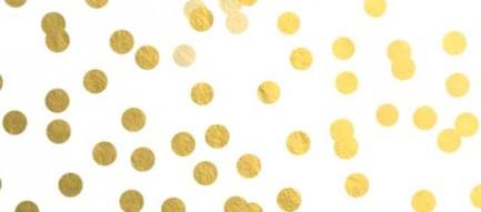金色のドット iPhone5壁紙