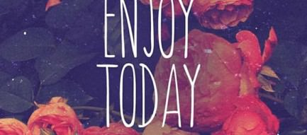 ENJOY TODAY iPhone5壁紙