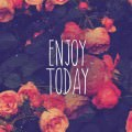 ENJOY TODAY iPhone6壁紙