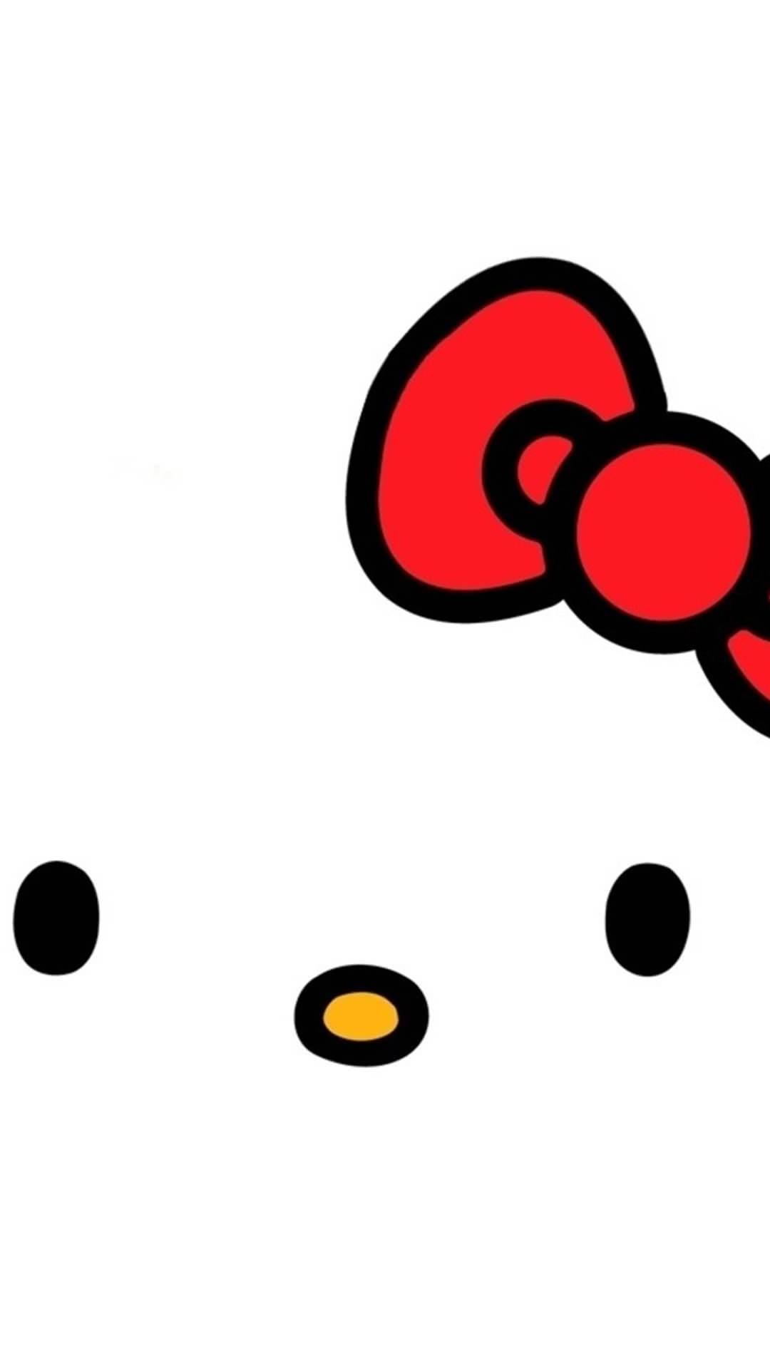 かわいいキティちゃん iPhone6 Plus壁紙