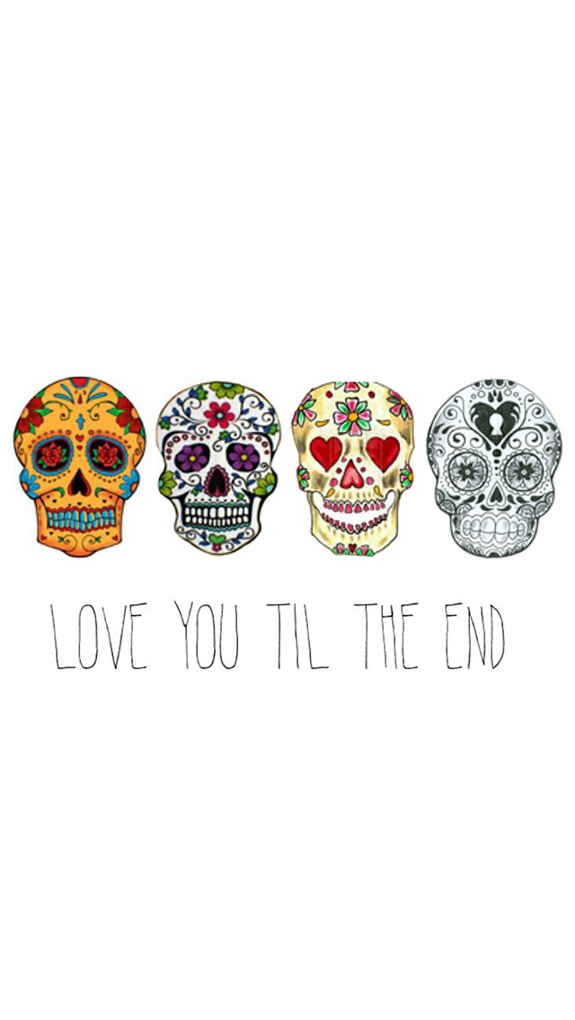 Love You Til The End iPhone5壁紙