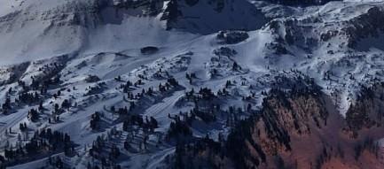 美麗な冬景色 iPhone5壁紙