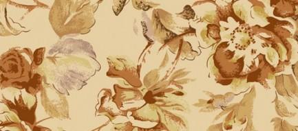 茶色の花柄模様 iPhone6 Plus壁紙