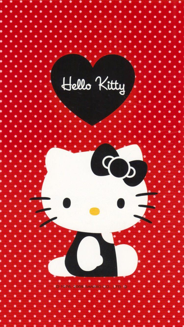 かわいいハローキティ iPhone6 壁紙