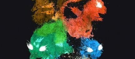 カラフルなポケモン iPhone6 壁紙