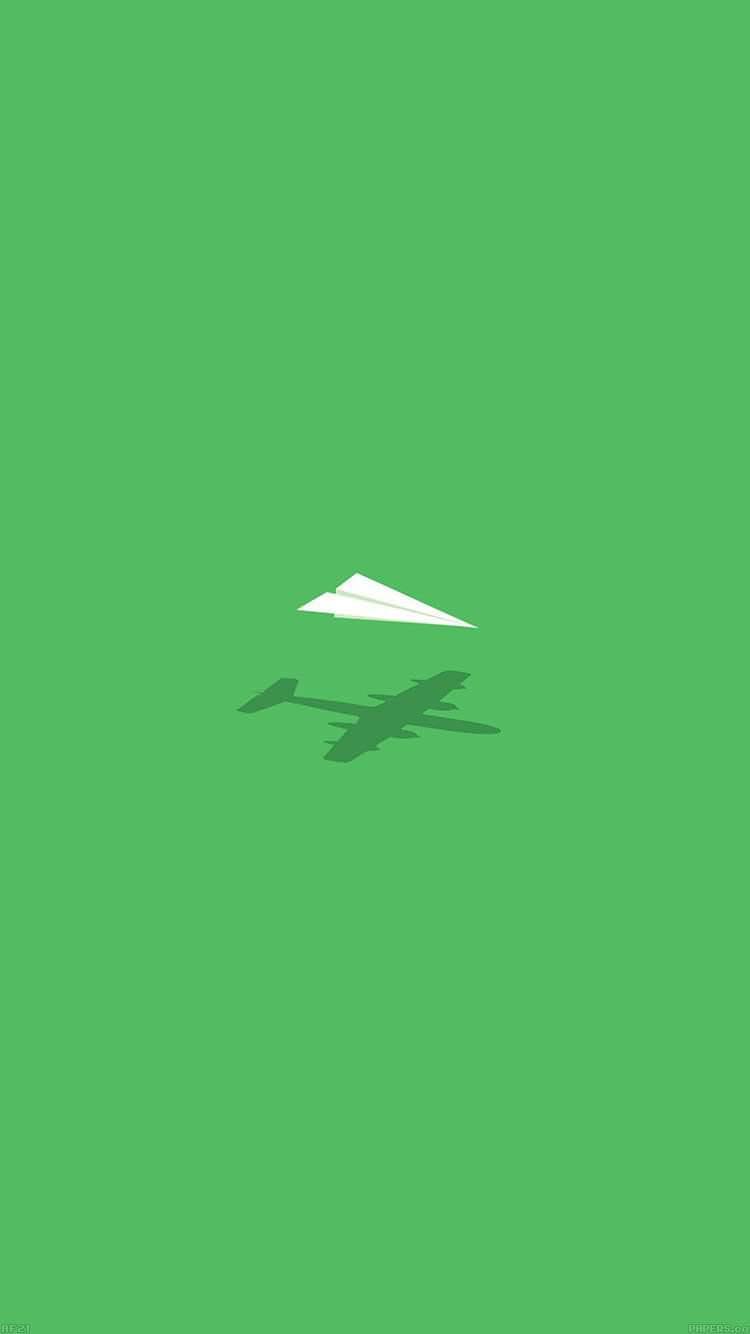 2つの飛行機 iPhone6 壁紙