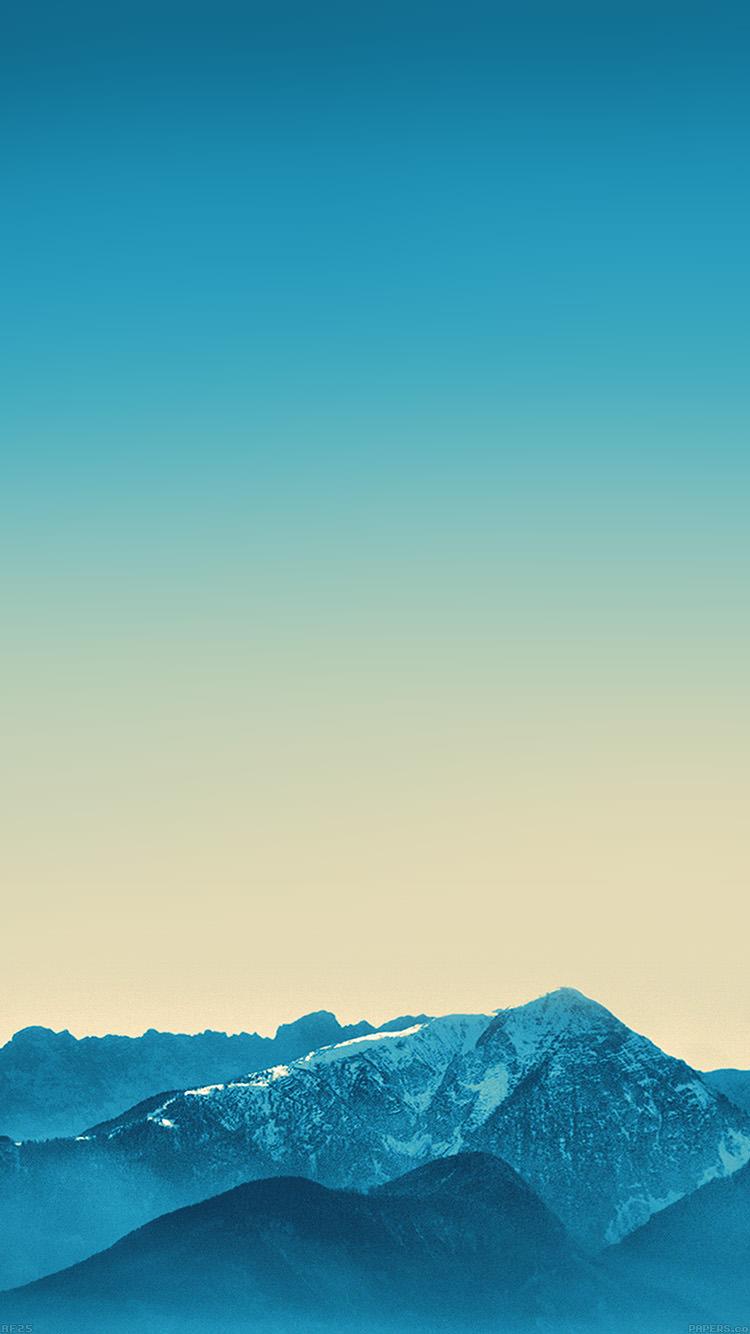 水色の風景 iPhone6 壁紙