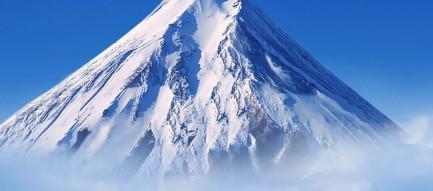 雪山とゲレンデ iPhone6 Plus壁紙