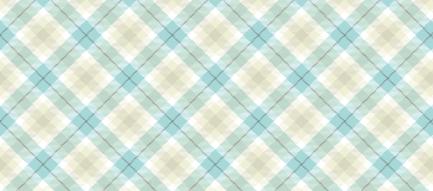 かわいい青のチェック iPhone6 壁紙