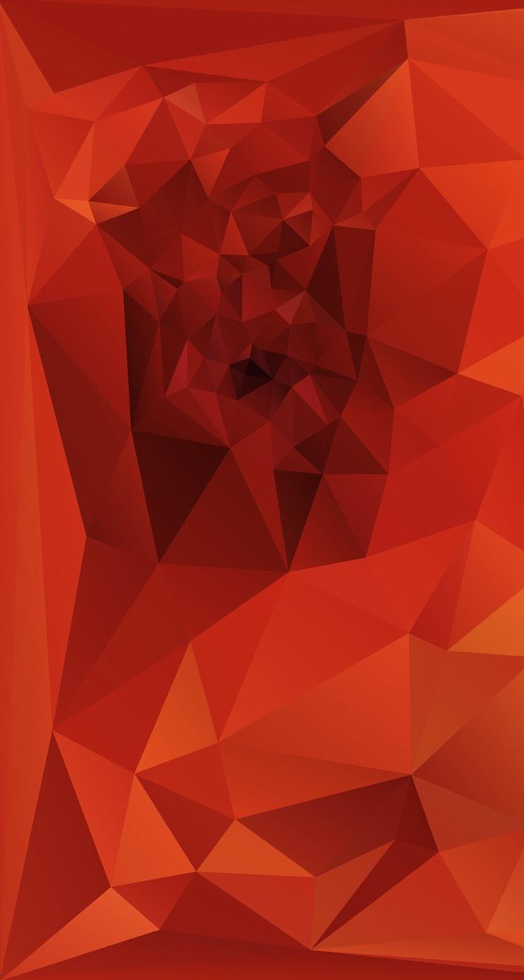 ORANGE iPhone6壁紙