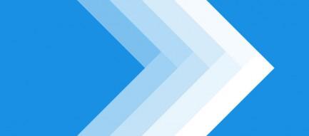 グラデーションの矢印 iPhone6壁紙