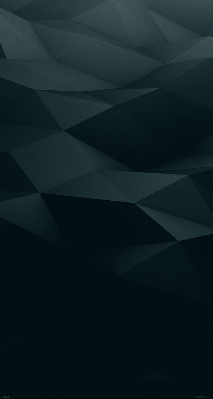 黒の凹凸 iPhone6壁紙