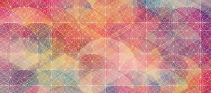 暖色の楕円 Android壁紙