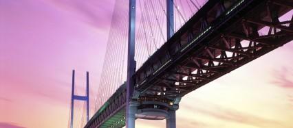 海を架ける大桟橋 Android壁紙