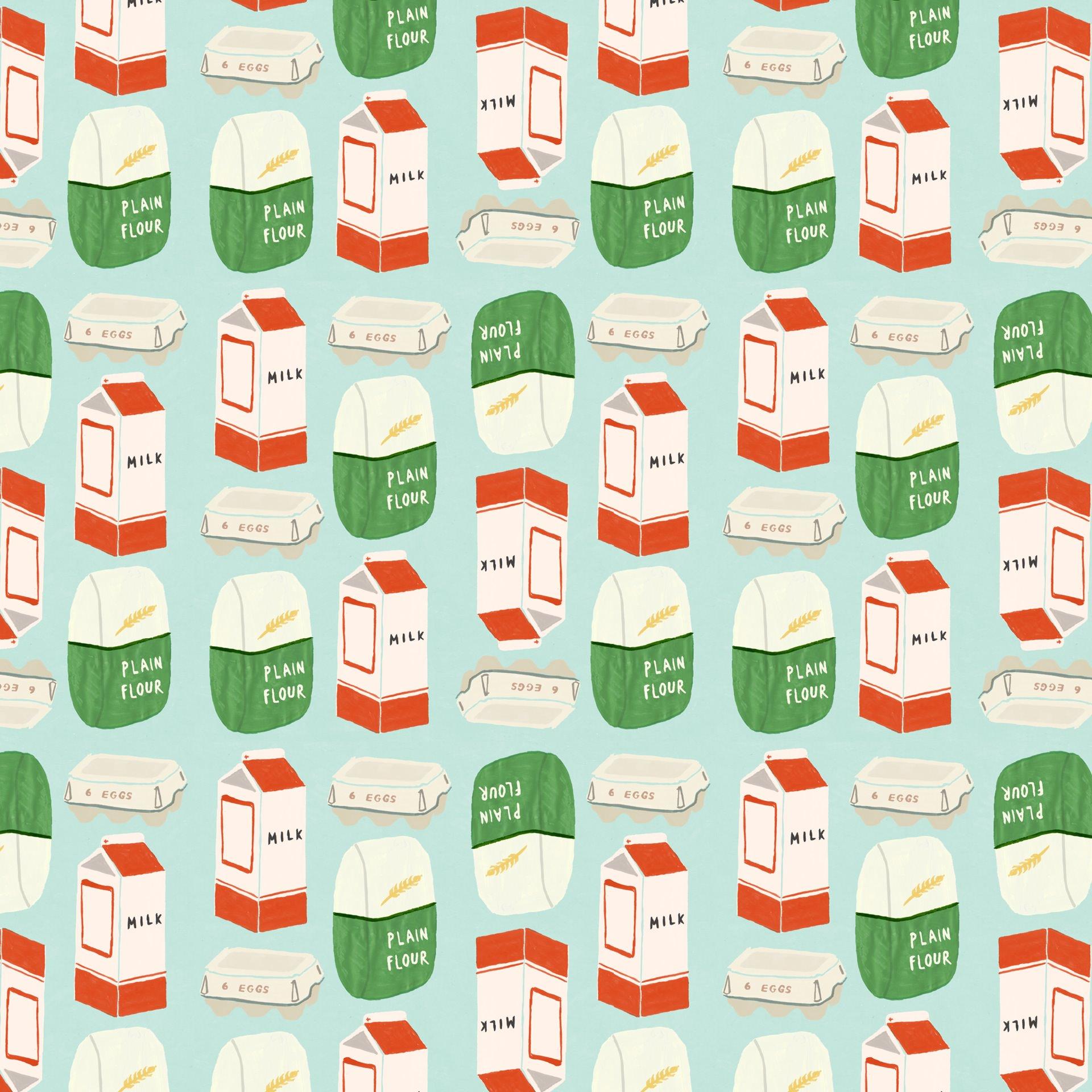 マリメッコ ミルクと小麦粉 Android壁紙