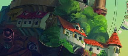ハウルの動く城 iPhone6 壁紙
