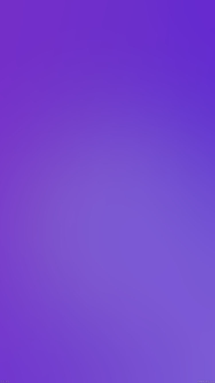 シンプルな紫のグラデーション iPhone6壁紙
