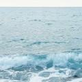 波の飛沫 iPhone6壁紙